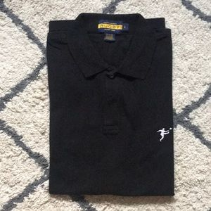 Ralph Lauren black collared shirt